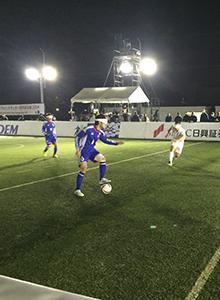 ブラインドサッカー世界選手権2014 日本代表vsフランス代表